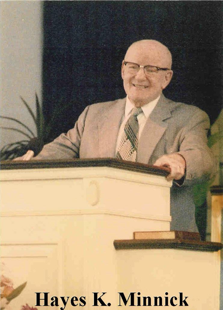 Pastor Hayes Minnick
